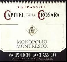Capitel della Crosara label