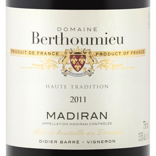Domaine-Berthoumieu-Haute-Tradition-Madiran-2011-Label