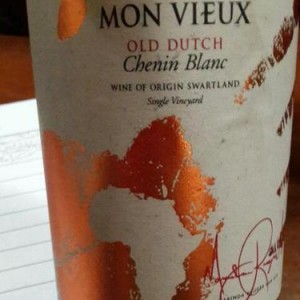Mon View chenin label