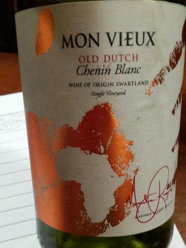 Mon View chenin label