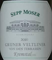 Sepp Moser Terrassen label