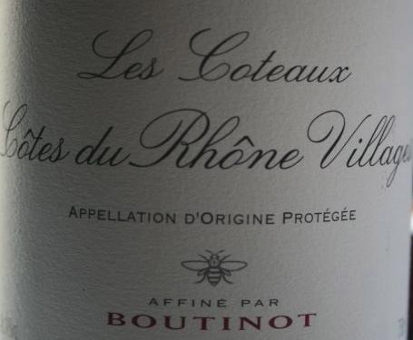 Boutinot CDRV label
