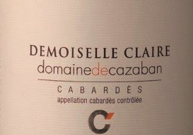 Cazaban demoiselle label