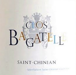 Clos Bagatelle Blanc label
