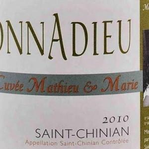 Clos Bagatelle mathieu marie label