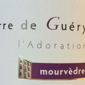 Guery mourvedre label
