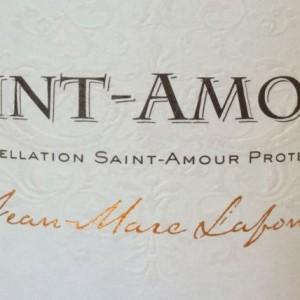 Lafont St Amour label