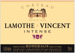 Lamothe intense rouge label