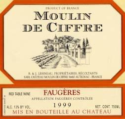 Moulin de Ciffre label