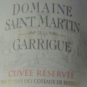 Saint Martin CR label 3