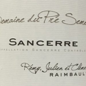 Sancerre label